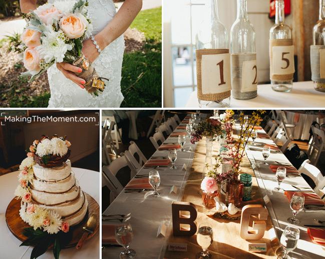 Muhlhauser Barn Wedding Reception Photography