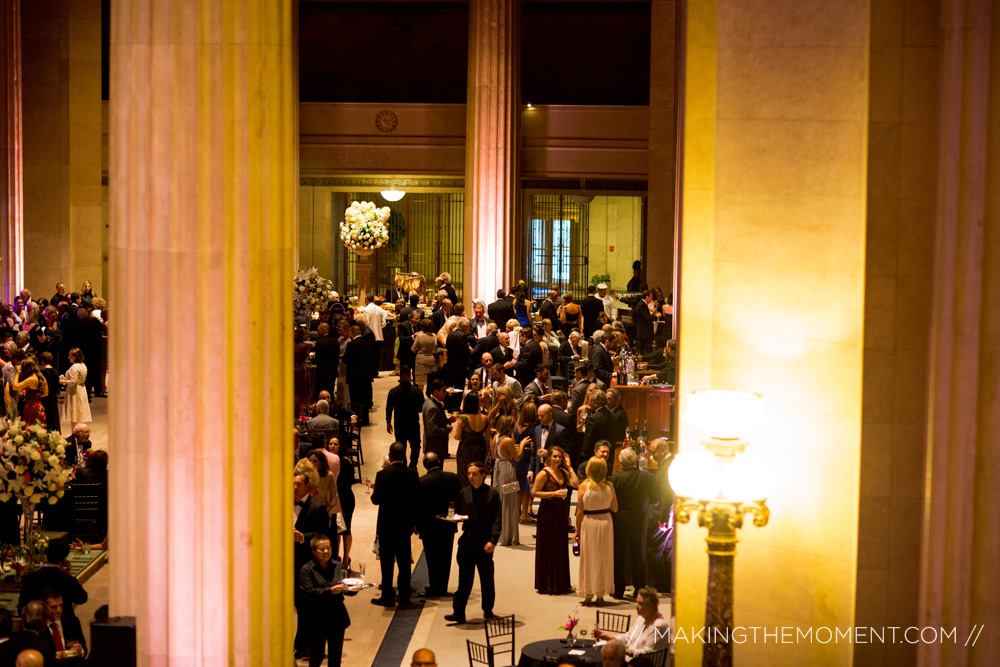 Huntington Bank Cleveland Wedding Reception