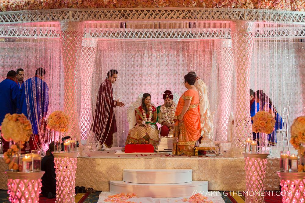 Indian Wedding Marriott Key Center Cleveland