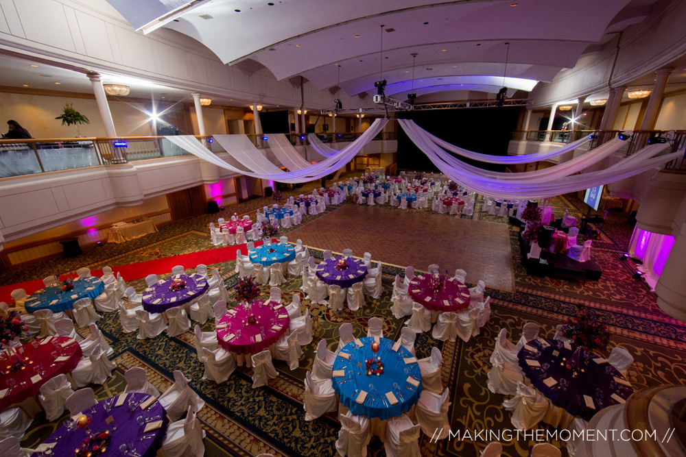 cleveland renaissance wedding reception