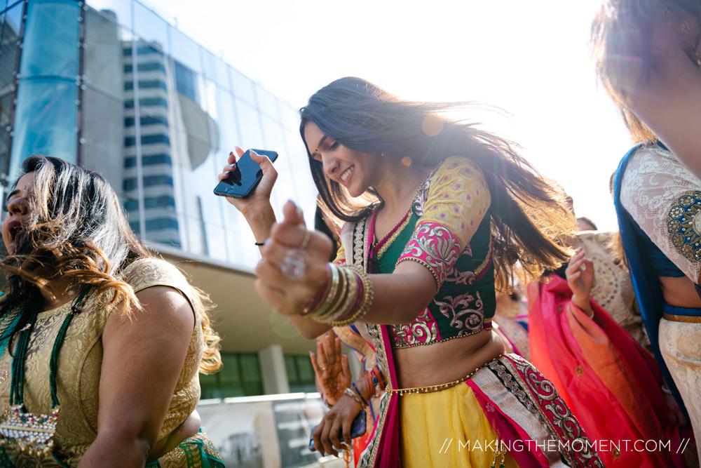 Indian Wedding Barat Dancing