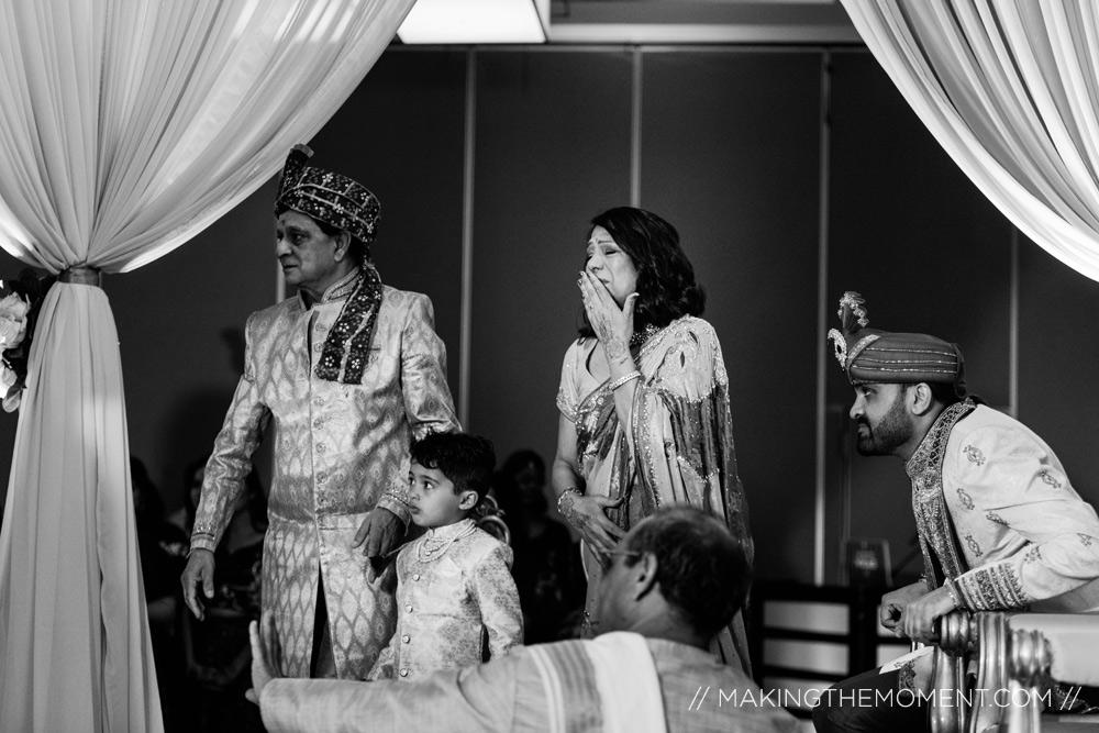 emotional indian wedding ceremony Hyatt Louisville