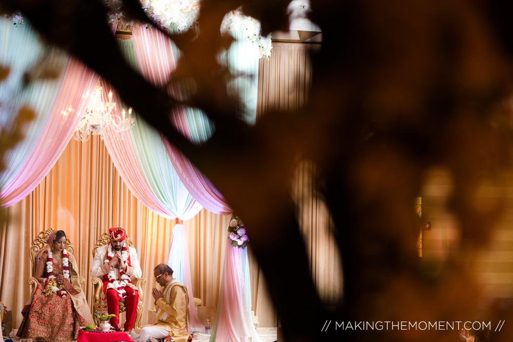 Hyatt Louisville indian wedding ceremony mandap