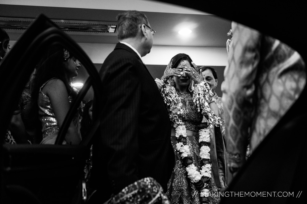 Indian wedding vidai tradition