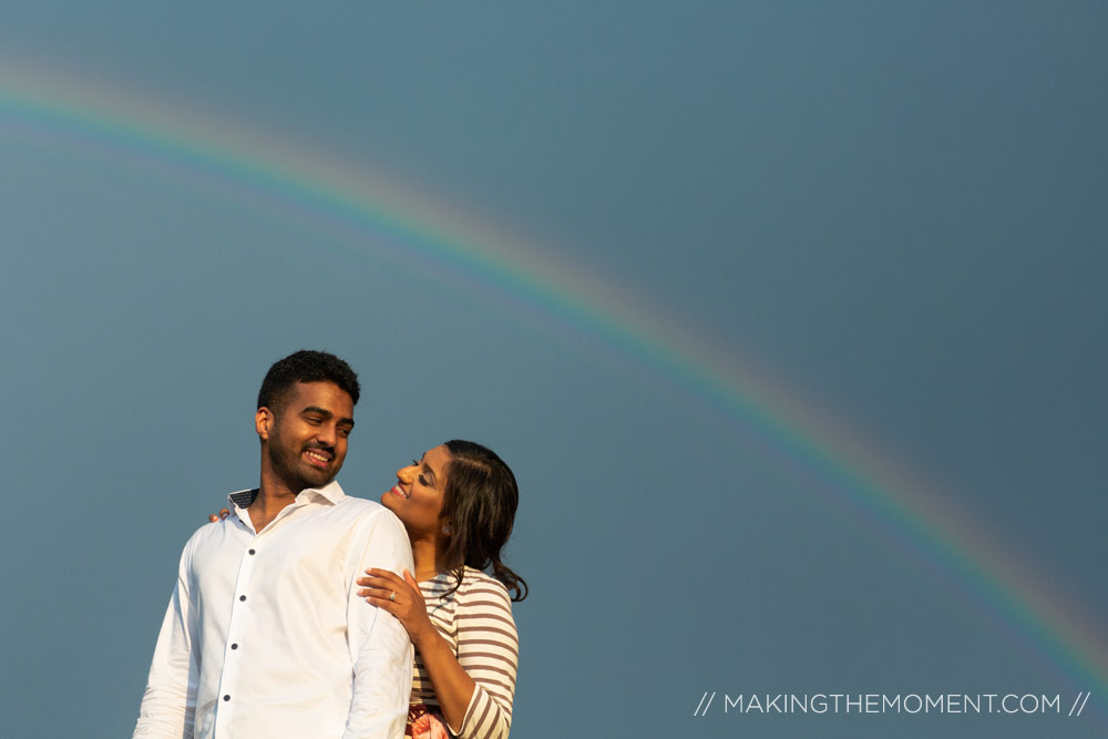 Rainbow engagement session