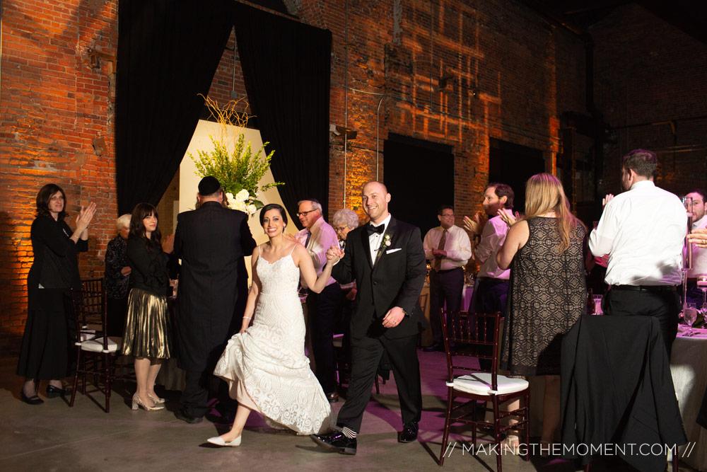 Tenk flats wedding reception