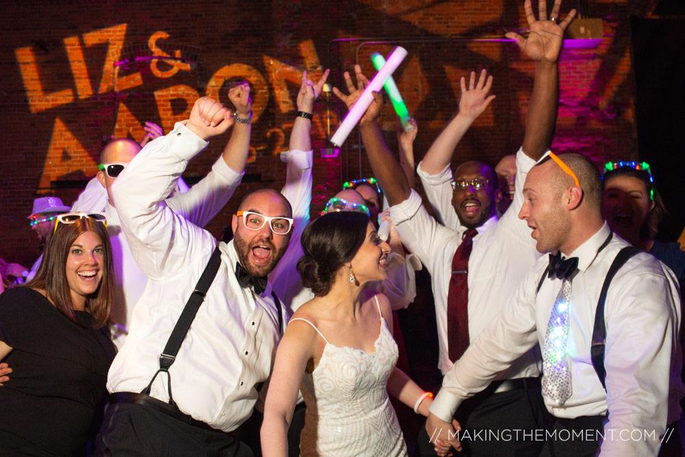 Tenk Cleveland wedding reception