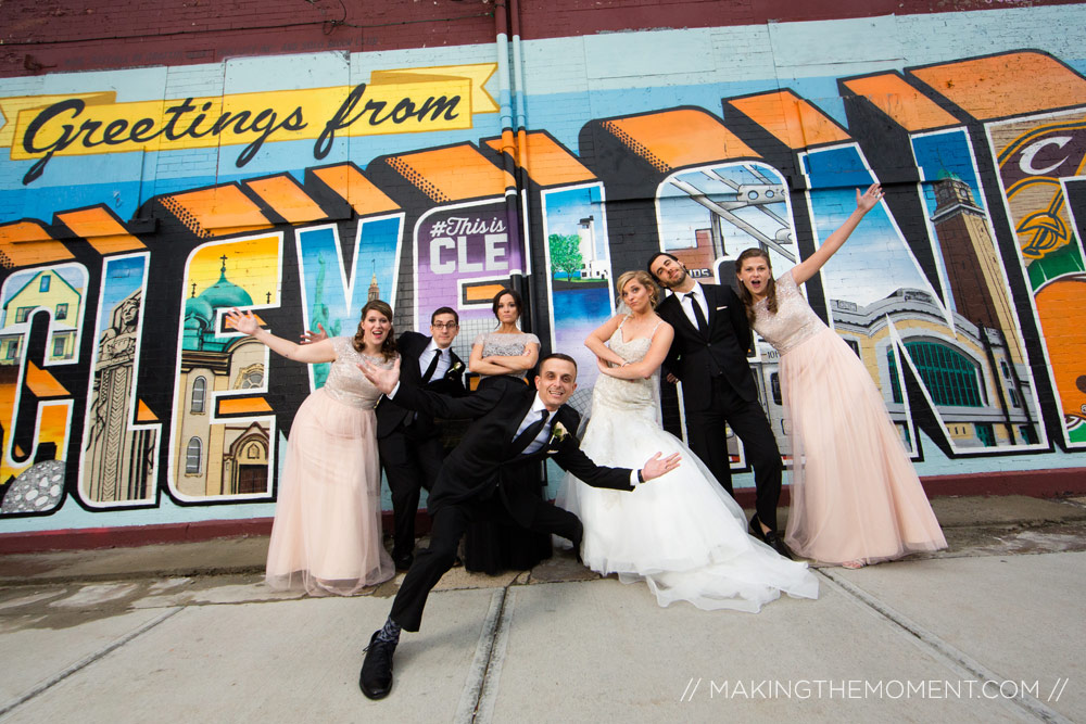 Bridal Party Cleveland Wedding Photography