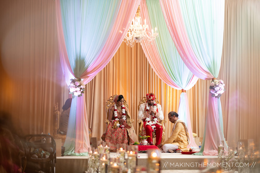 Indian Wedding Ceremony Photography Cleveland