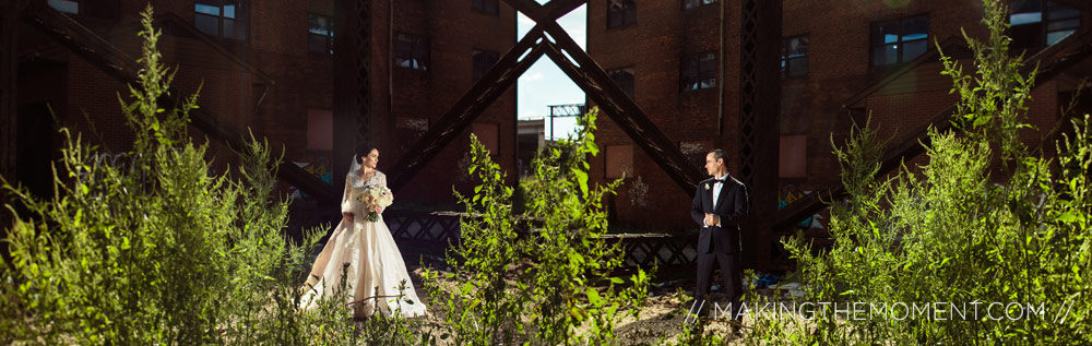 Artistic wedding photographers Cleveland