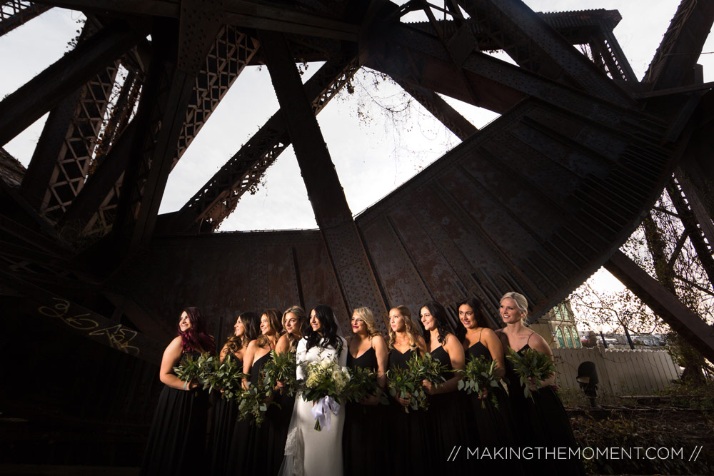 Winter Wedding Photography Cleveland