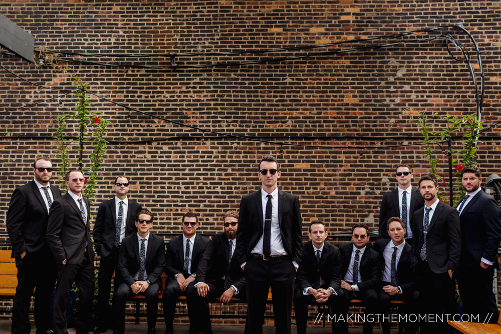 Groomsmen Wedding Photography Cleveland