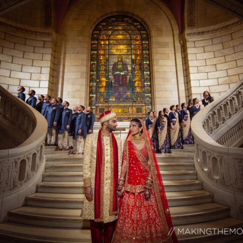 Artistic Indian Wedding Photographer Cleveland