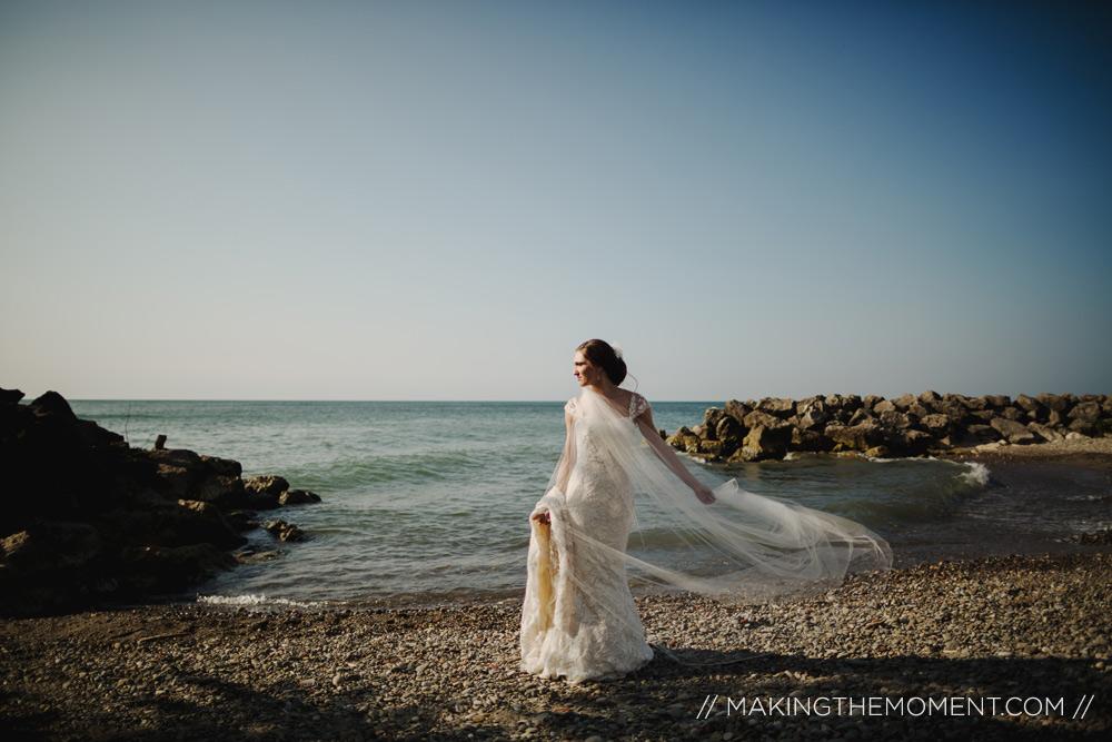 Cleveland Wedding Photography Lake Erie