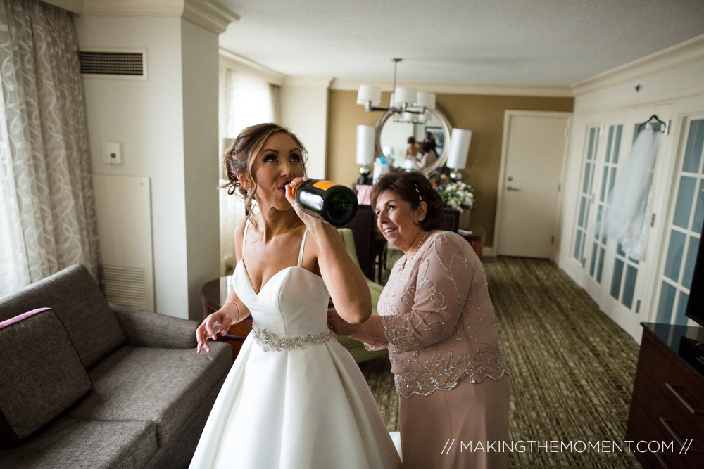 Cleveland Wedding Photographer Dress