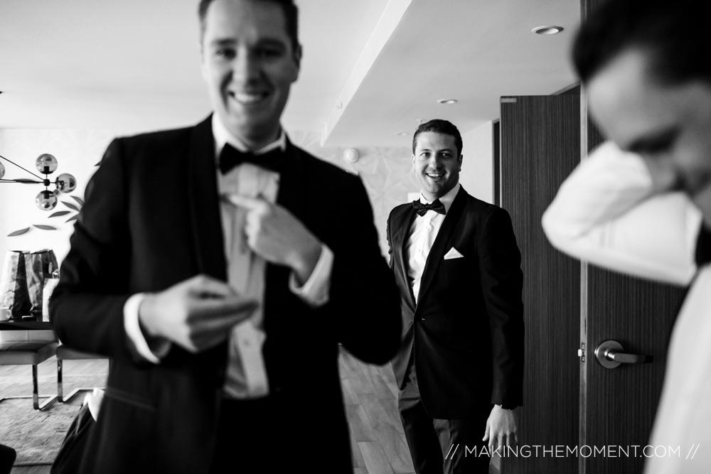Groomsmen Wedding Photographer Cleveland