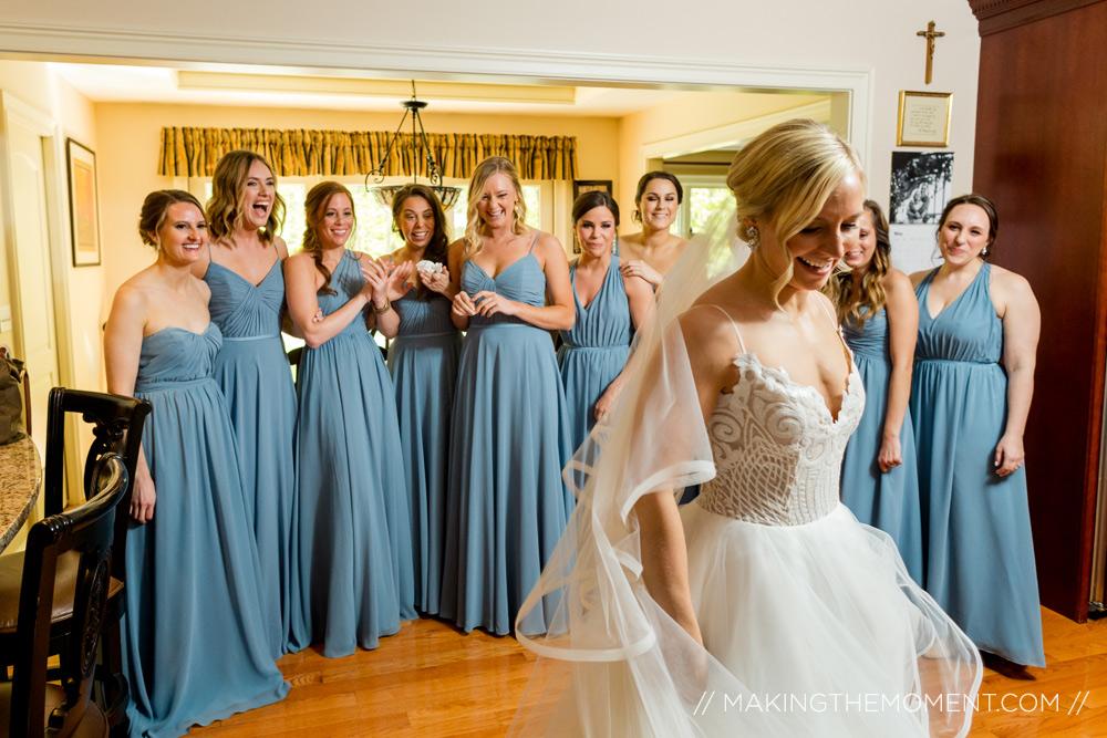 Bridesmaid Wedding Photogaphy Cleveland