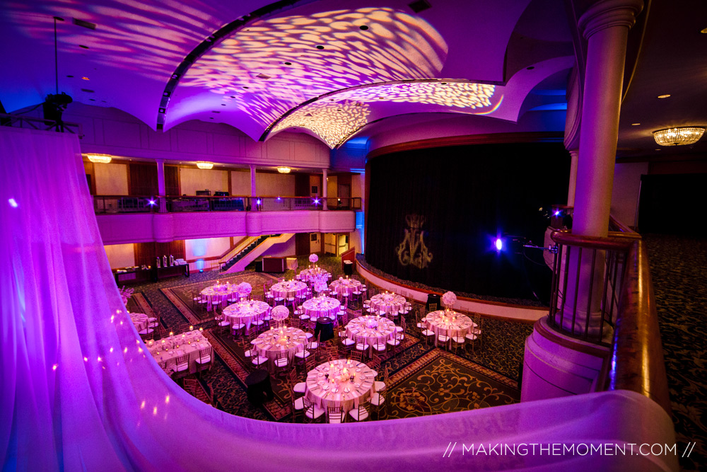 Renaissance Cleveland Wedding Reception