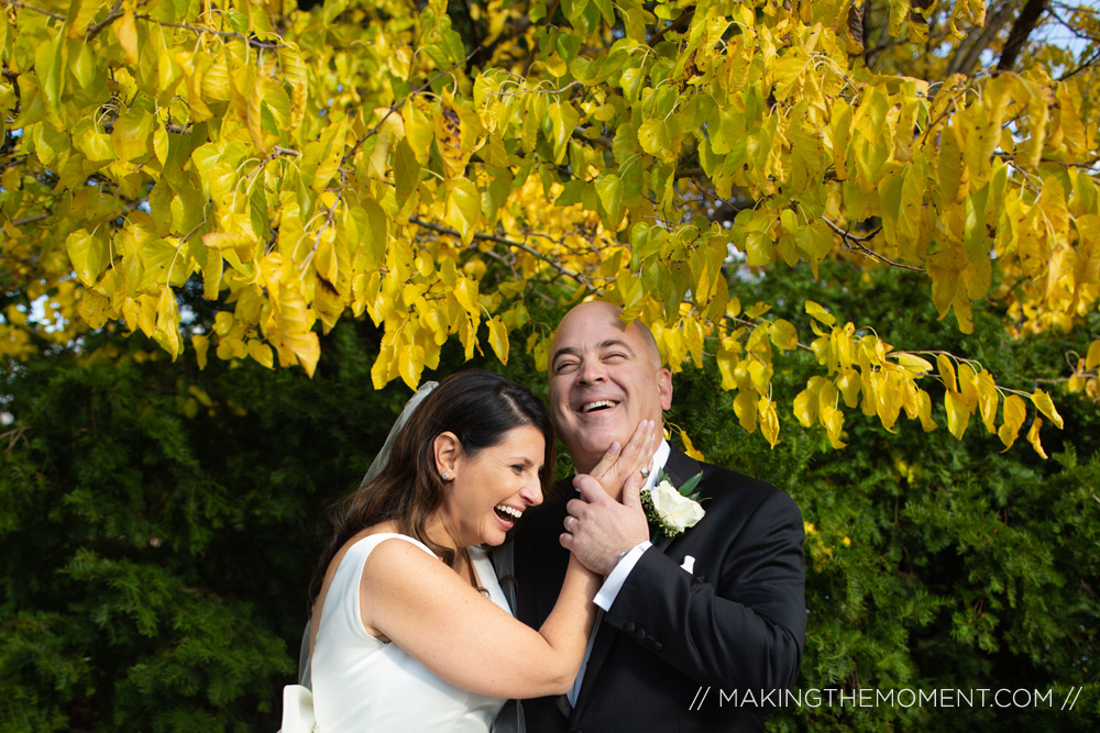 Fun Wedding Photography Downtown Cleveland