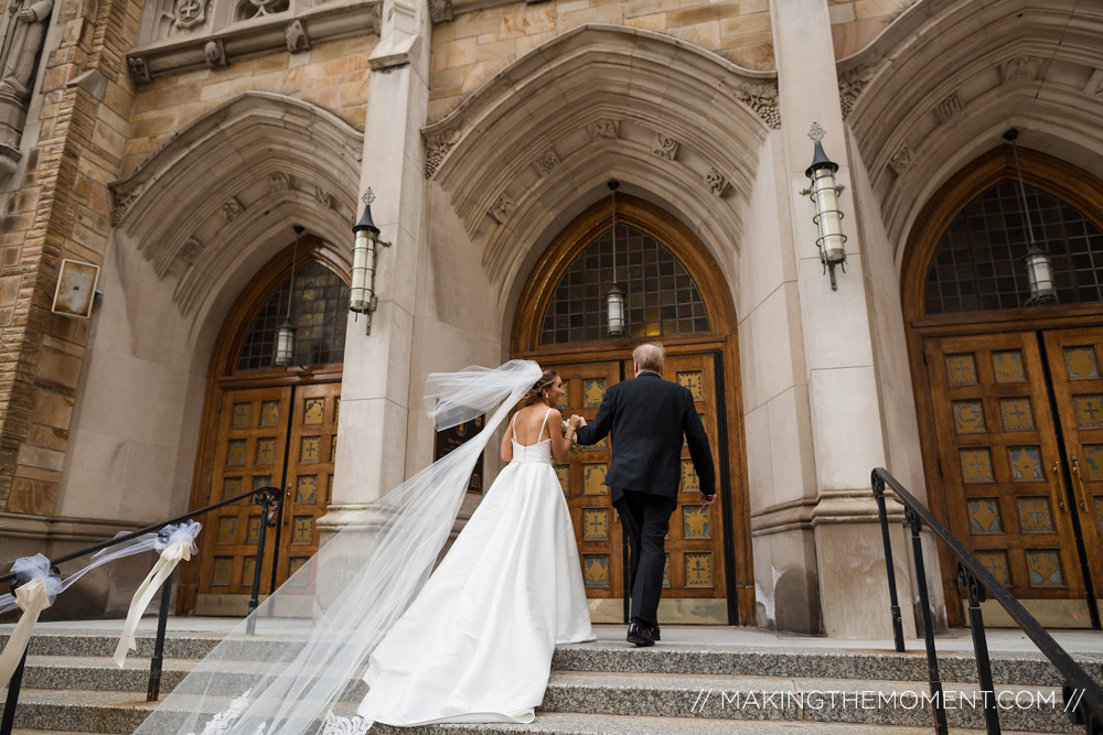 Father daughter wedding photography cleveland