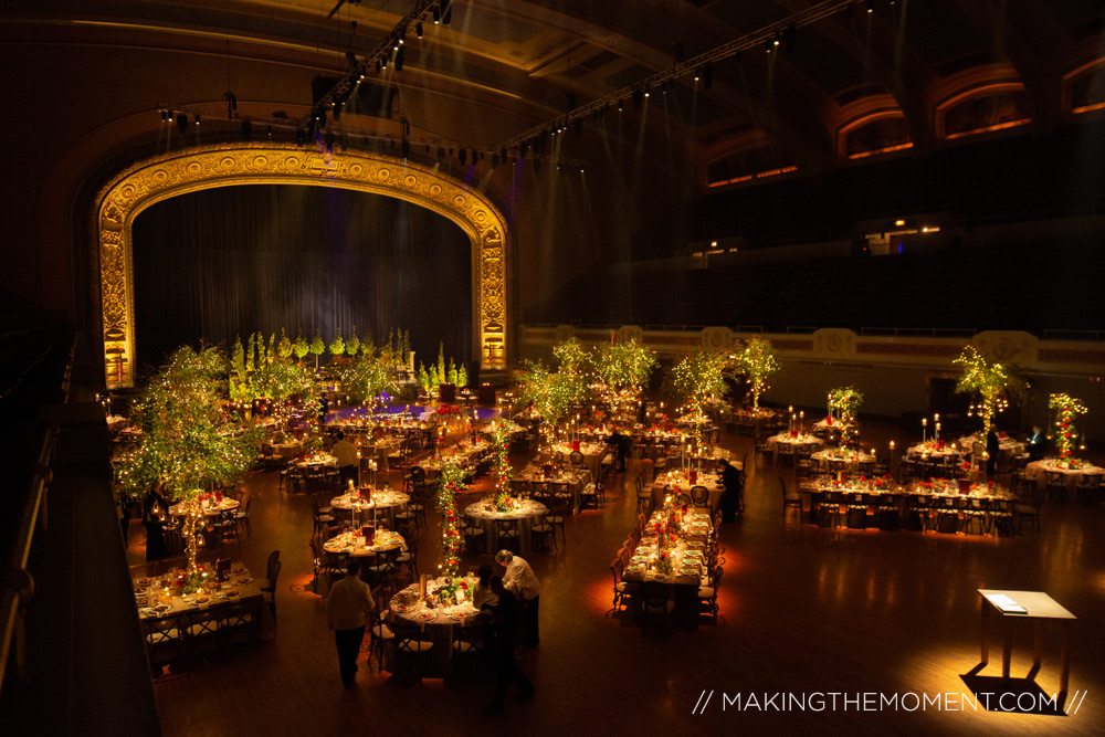 cleveland public auditorium wedding reception
