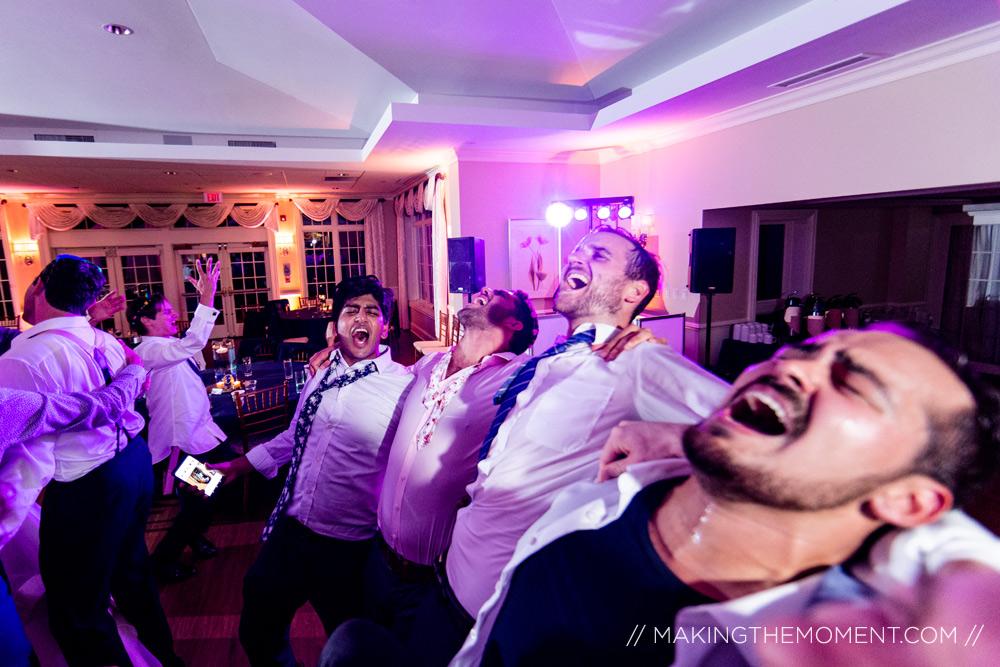 Funny Wedding Reception Photography Cleveland