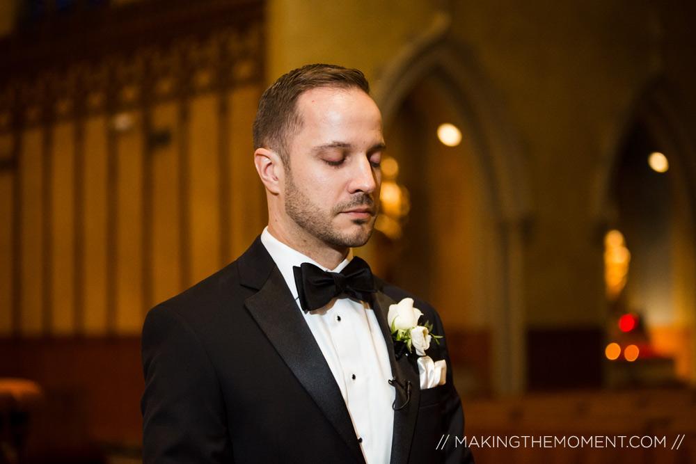 Groom Wedding Photography Cleveland