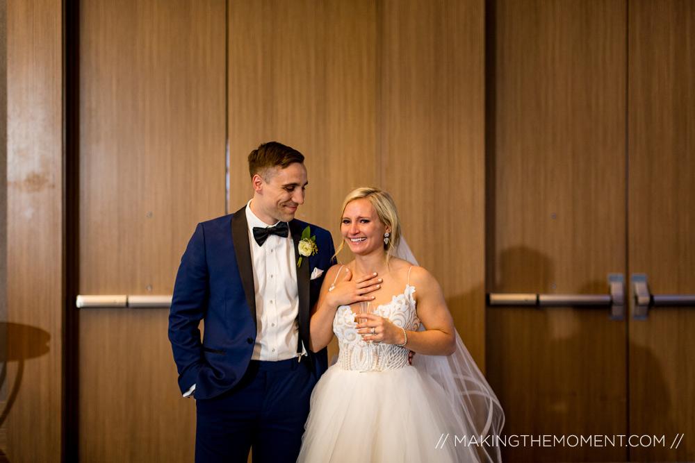 Hilton Cleveland Wedding Photographer