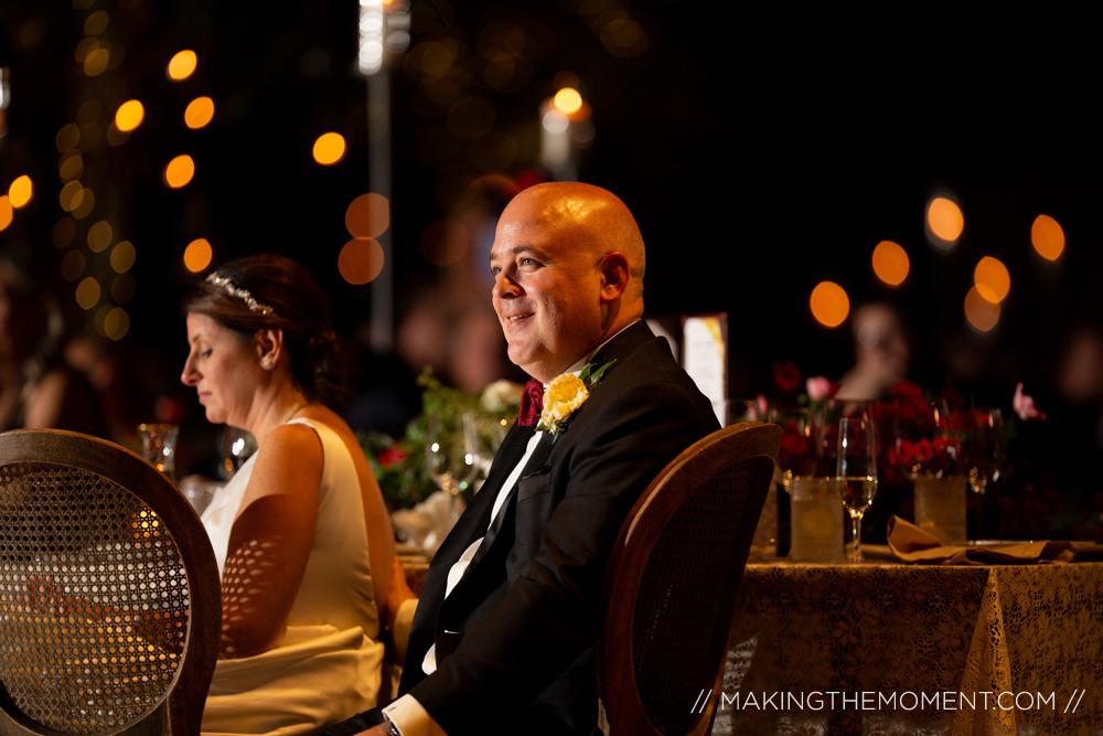 luxury custom wedding reception cleveland