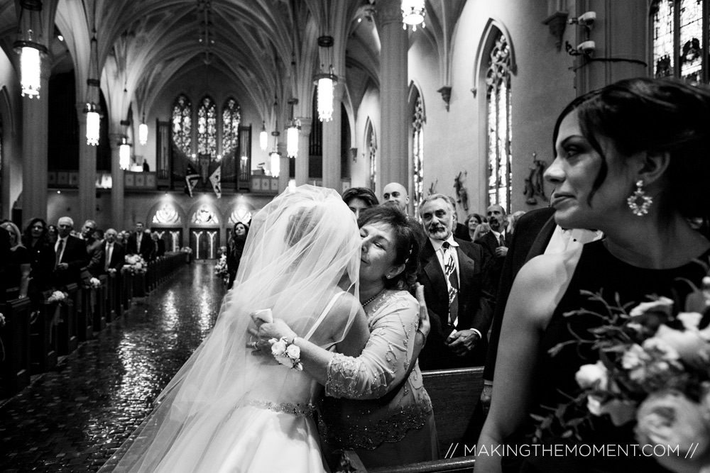 Mother daughter wedding photography cleveland