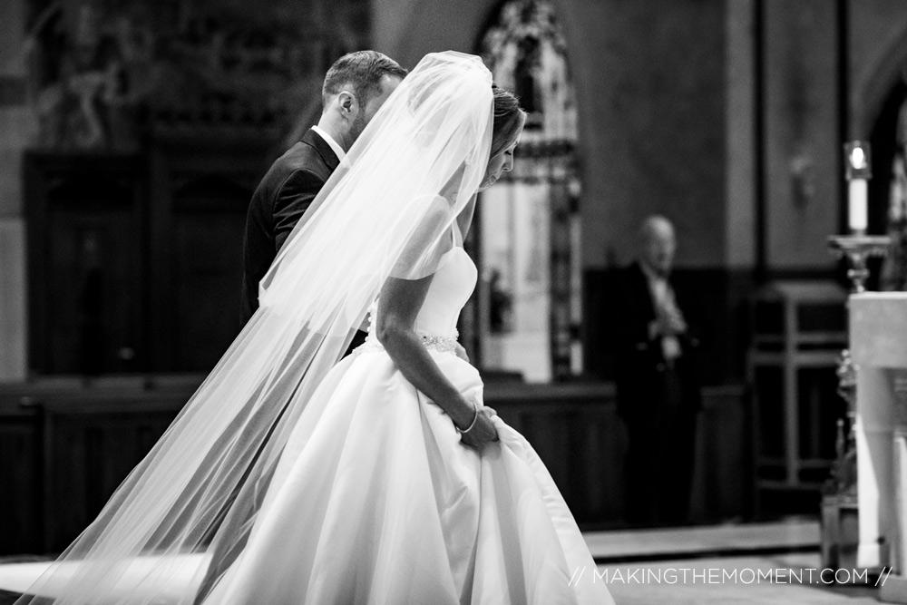 Catholic wedding photographer cleveland