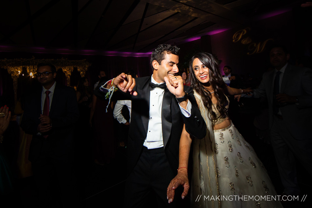 hilton cleveland wedding photographyIndian Wedding Reception Hi