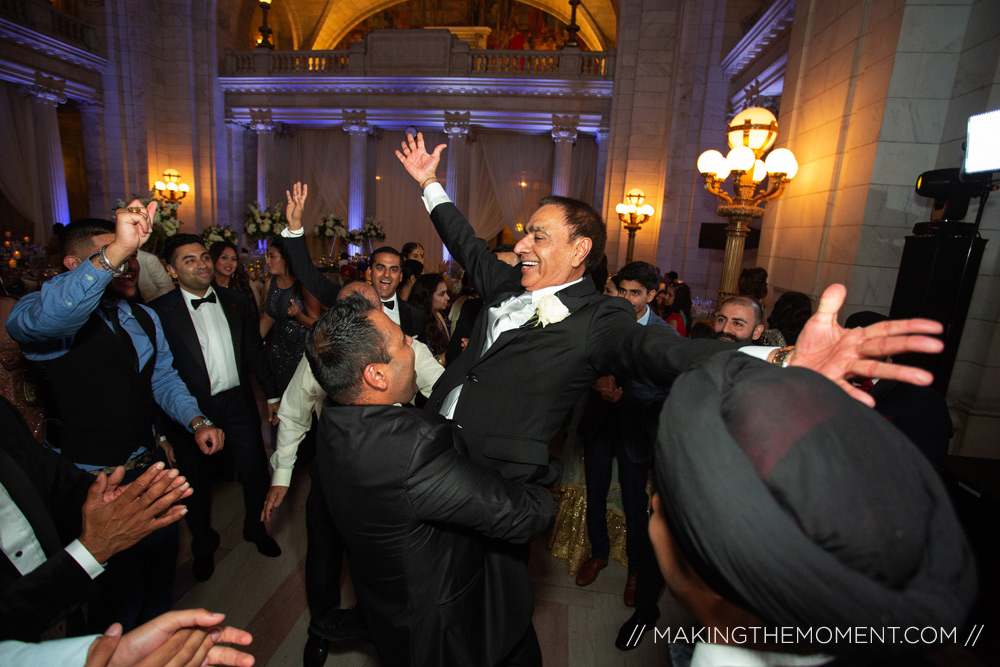 indian wedding reception cleveland courthouse