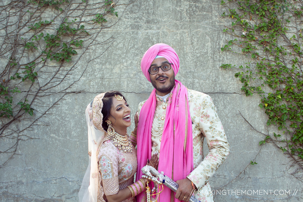 Fun Indian Wedding Photography Cleveland