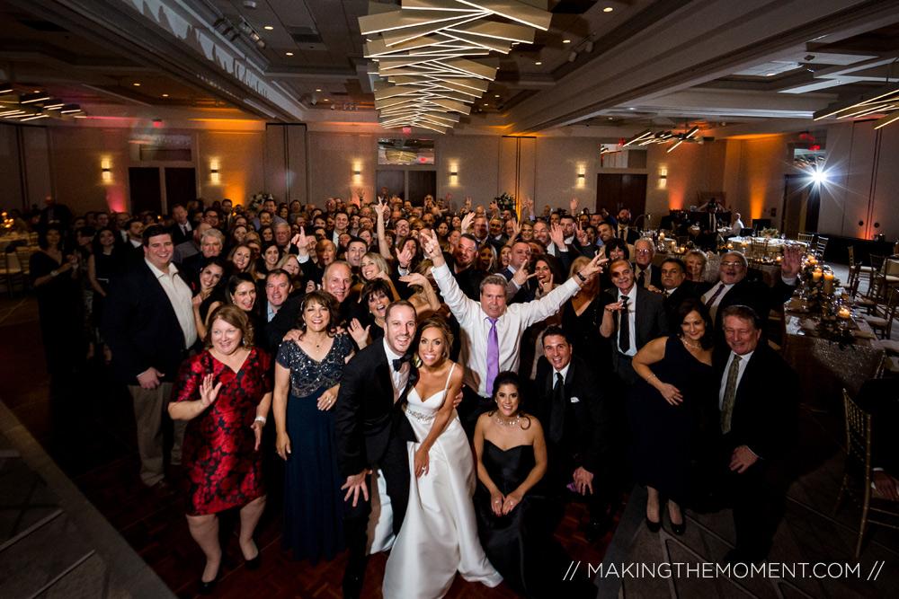 Cleveland Marriott Key Wedding Reception