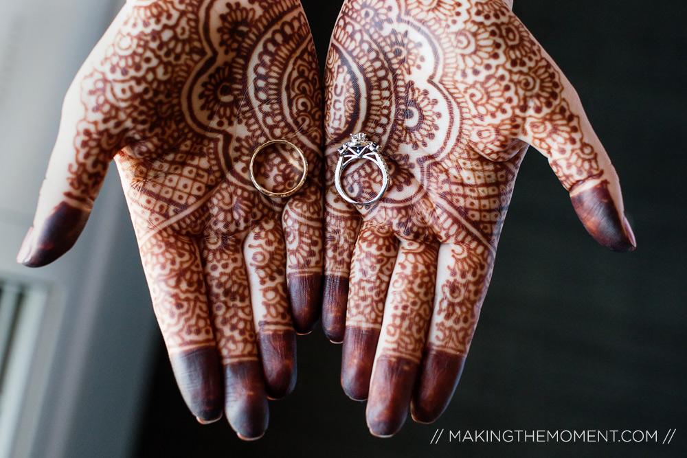 Cleveland Indian Wedding Photographer Henna