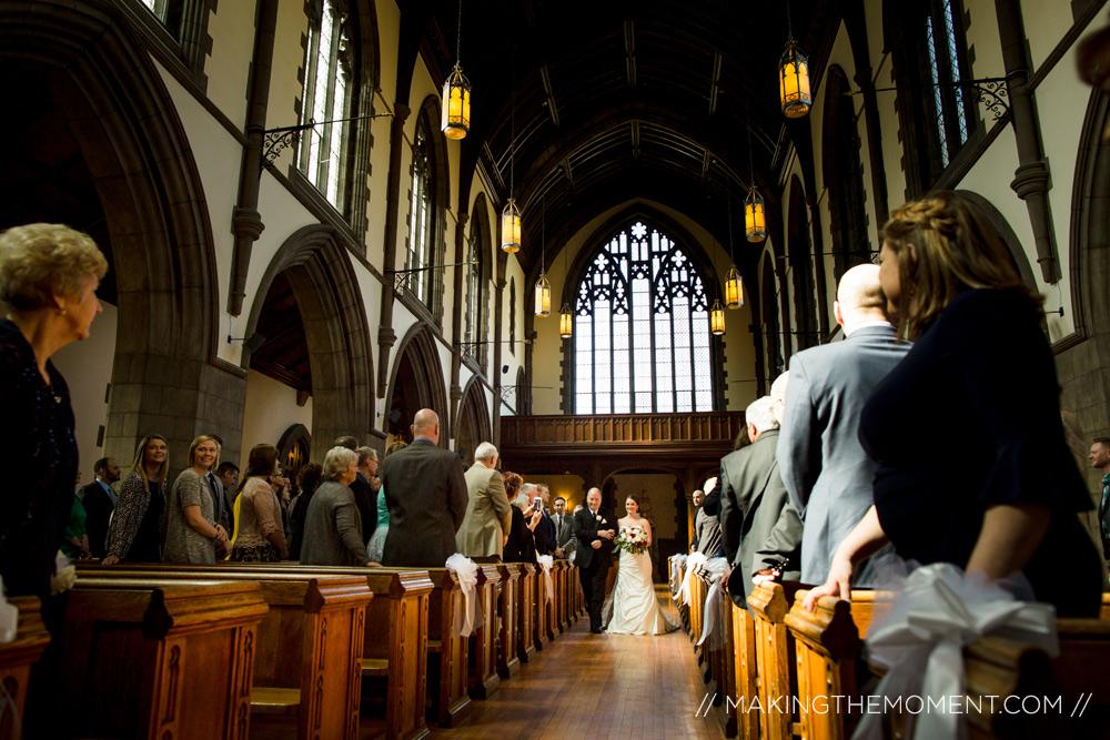 Cleveland Wedding Ceremony Photographer