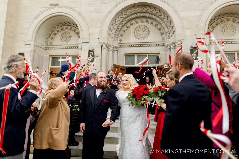 Fun Wedding Reception Photography Cleveland