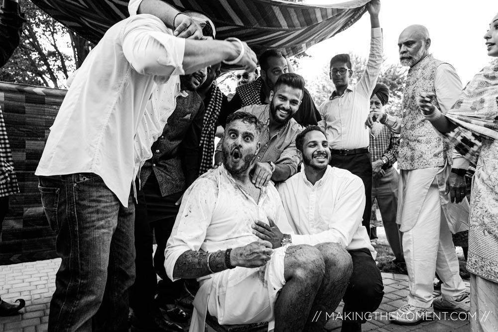 Fun Indian Wedding Photography