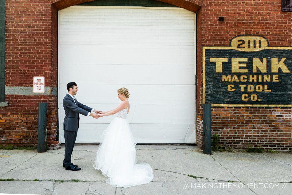 Cleveland tenk wedding