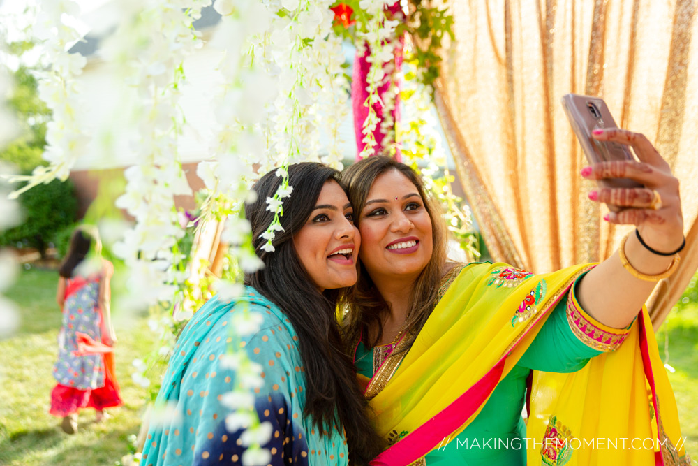 outdoor indian wedding