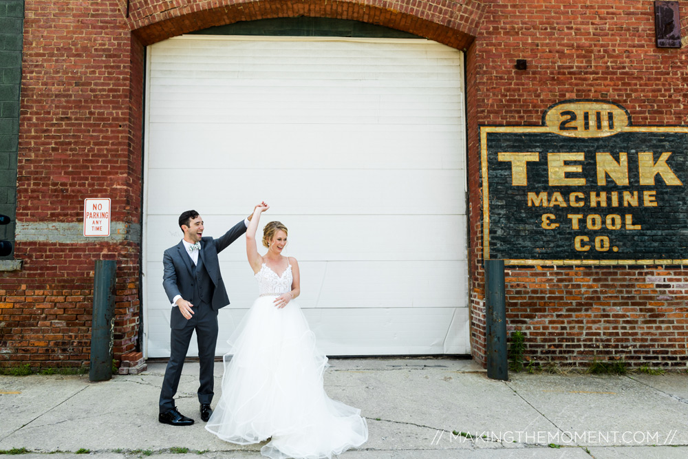 Cute Wedding Photography Cleveland