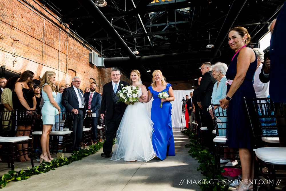 Cleveland Wedding Ceremony Photographer