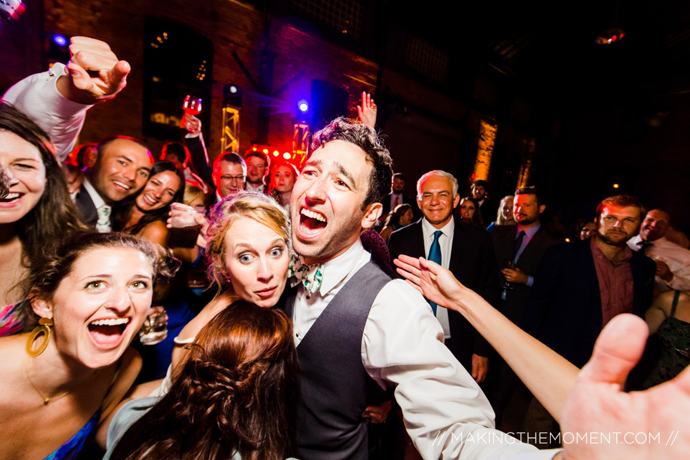 Wedding Reception Party Photography in Cleveland