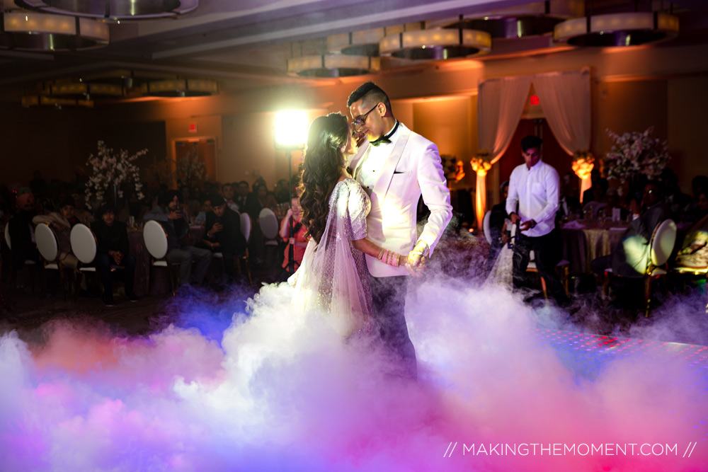cloud dance wedding reception
