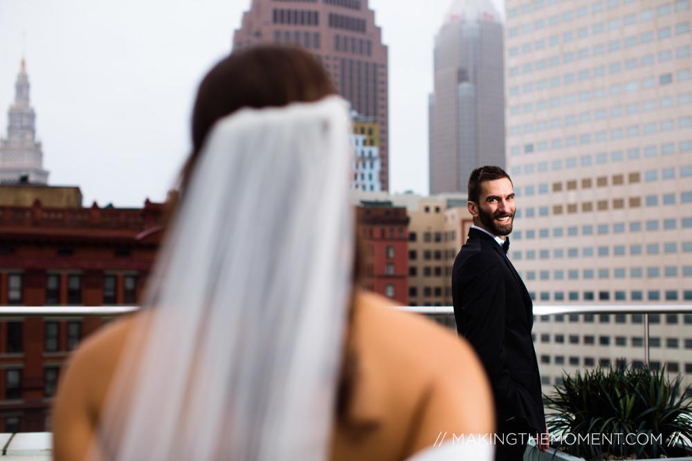 metropolitan 9 rooftop wedding cleveland