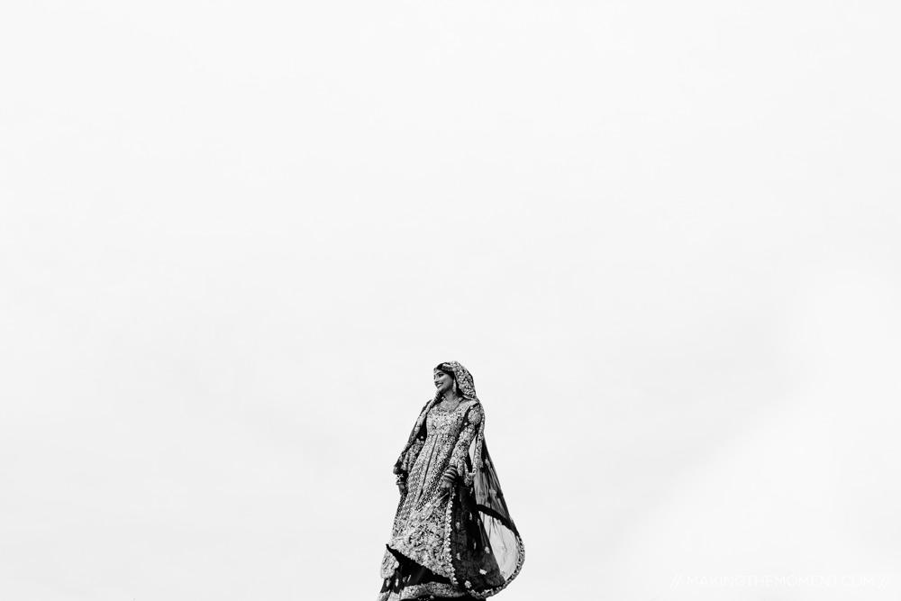 Artistic Indian Bride Cleveland Photographer