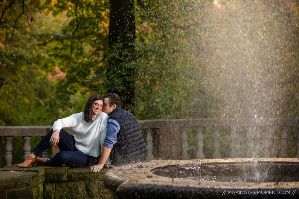 Cute Engagement Session Cleveland