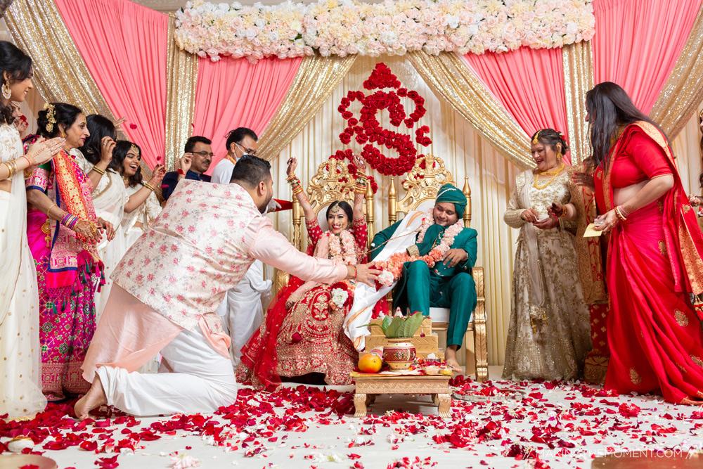 Colorful Indian Wedding Ceremony Cleveland