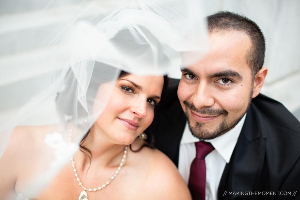 Creative Veil Ideas Wedding Photographers Cleveland